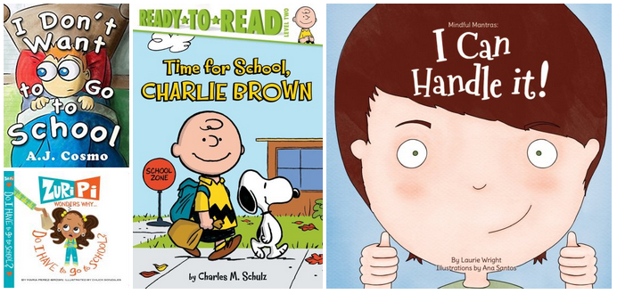 4 Books to Help Your Child Overcome Back-to-School Anxiety