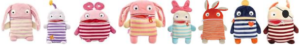 Haywire Group Worry Eaters - anxiety relief toys