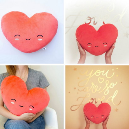Smoko Myo Heart Pillow